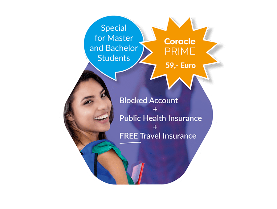 Coracle Prime Offer - Blocked account Health insurance and Travel insurance